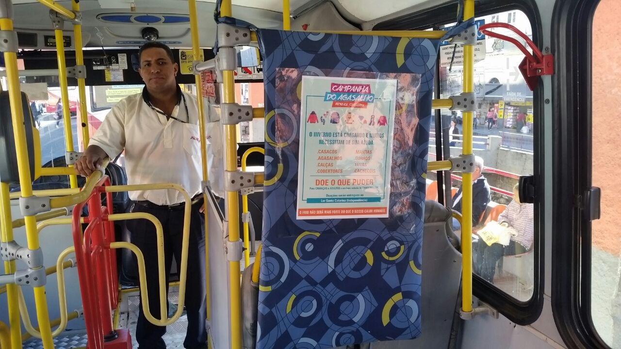 Arrecadação nos ônibus