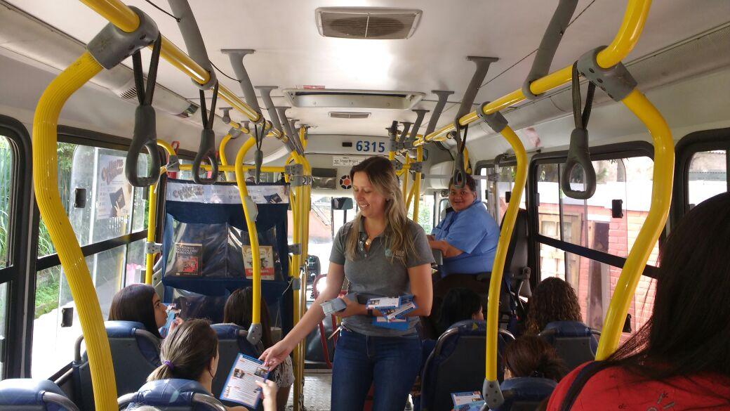 Cultura no ônibus